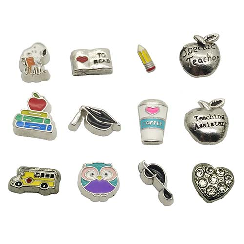 graduation gift floating charm for locket necklace