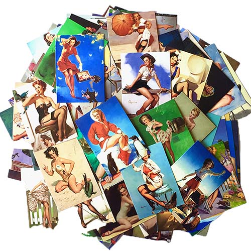 pin up stickers