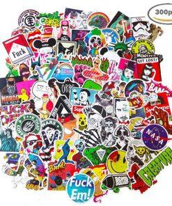 300pcs vinyl decals stickers